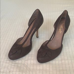 Miss Albright Leather Pumps 36.5